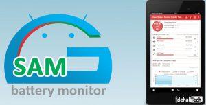 برنامه محافظ باتری اندروید GSam Battery Monitor