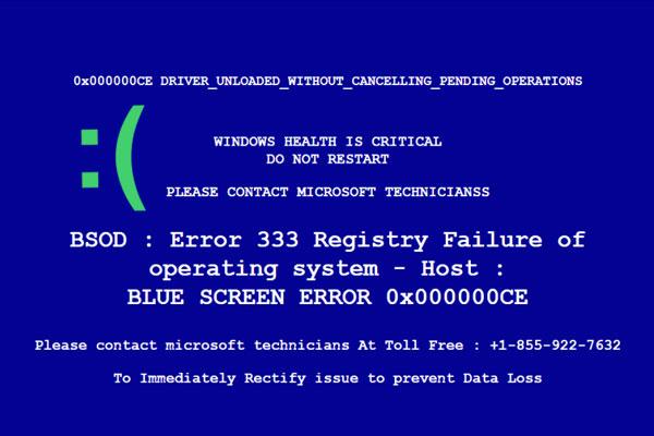 رفع خطای صفحه آبی مرگ در مایکروسافت