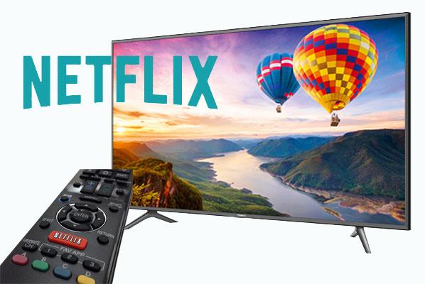 نحوه اتصال و استفاده از Netflix در تلویزیون هوشمند