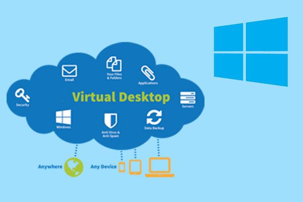 نحوه تنظیم و اتصال به دسکتاپ ویندوز مجازی