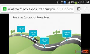 پاورپوینت آنلاین PowerPoint Online