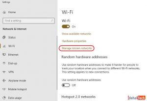 رفع مشکل ذخیره نشدن رمز وای فای در ویندوز