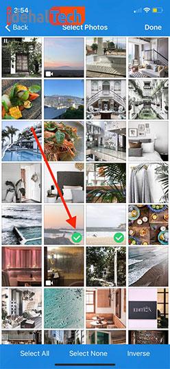 انتخاب عکس ها مخفی کردن تصاویر با Photo Vault