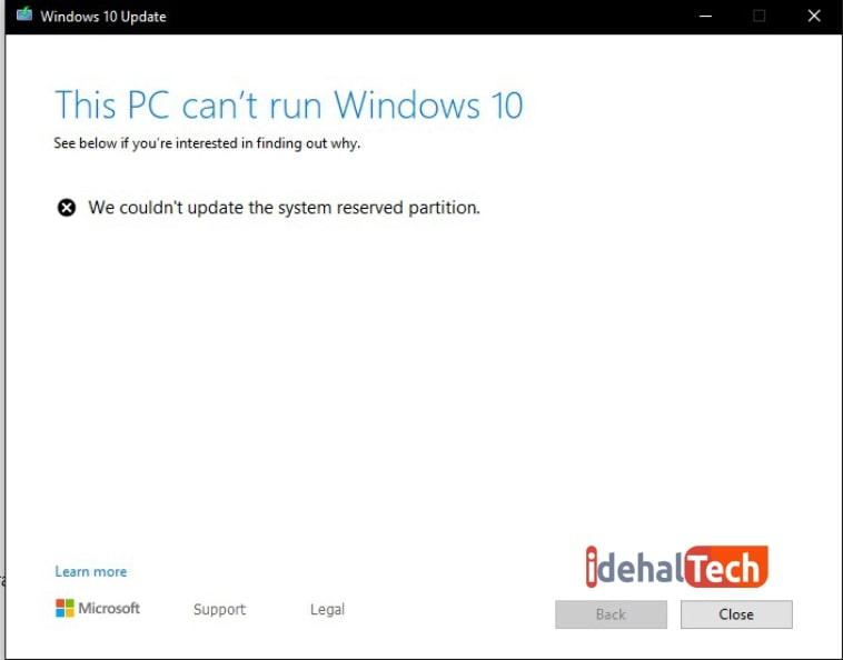 توانایی سیستم برای اجرای ویندوز 10