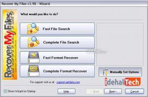 نرم افزار ریکاوری مال فایل