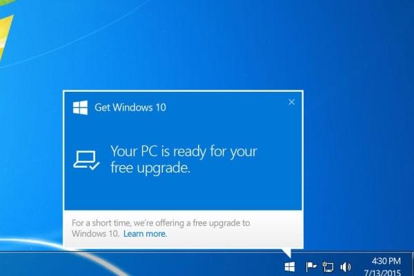 تبدیل ویندوز 7 به ویندوز 10