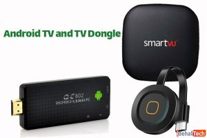Android-TV-and-TV-Dongle روش اتصال اینترنت و تلویزیون بدون وای فای