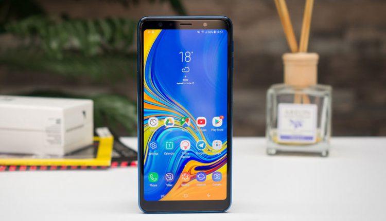 گوشی Galaxy A7 2018 گلکسی ای 7