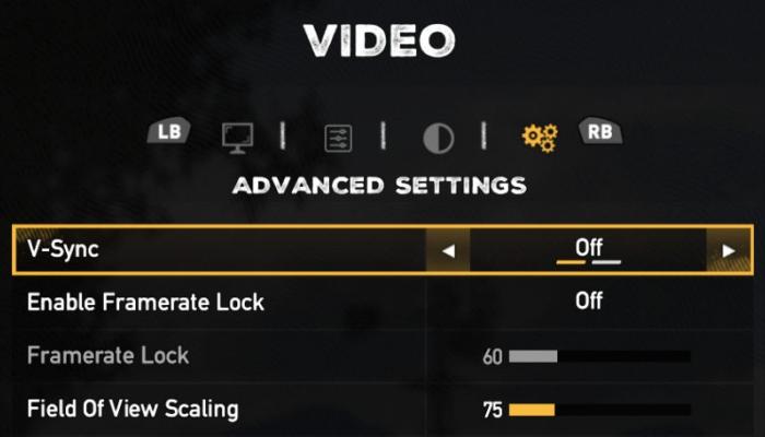 تکنولوژی V-SYNC
