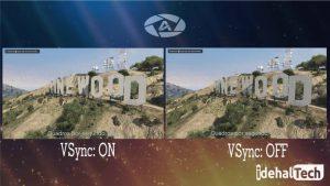تکنولوژی V-SYNC گرافیک