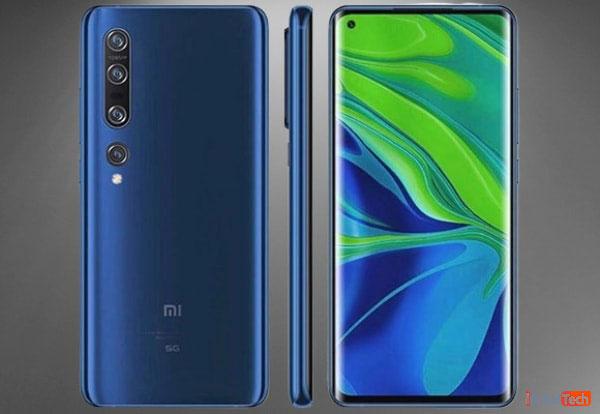 طراحی گوشی Xiaomi Mi 10 Pro 5G
