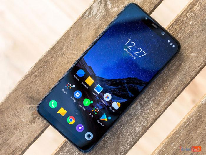 بررسی صفحه نمایش گوشی Xiaomi Pocophone F1