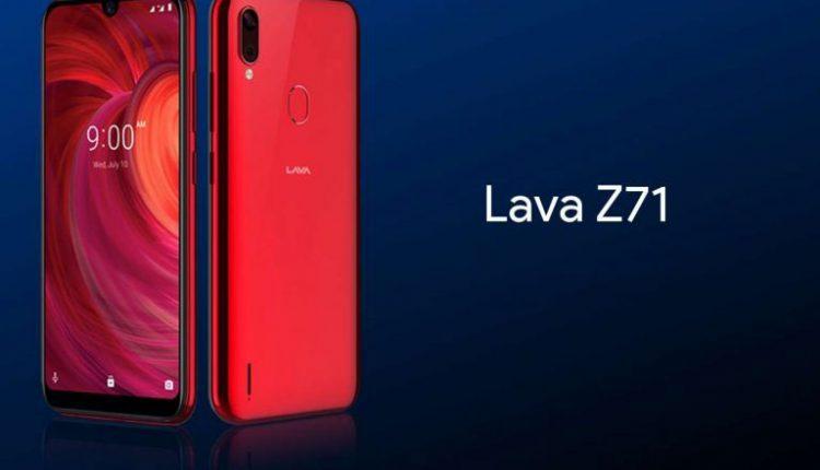 گوشی lava z71
