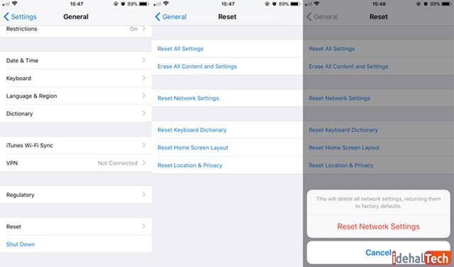 تنظیم-مجدد-network-settings-در-آیفون
