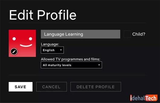 زبان-حساب-کاربری-را در نتفلیکس-تغییر-دهید