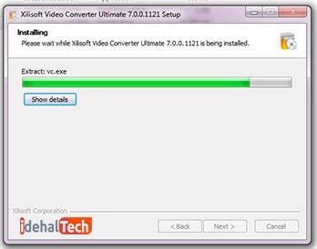 نصب xilisoft video converter