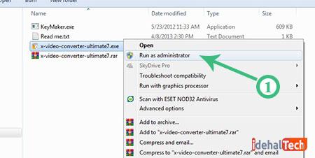 اجرای فایل نصب xilisoft video converter
