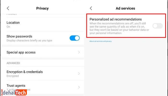 تبلیغات-شخصی-را-غیرفعال-کنید