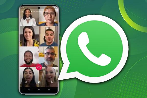 تماس-گروهی-در-واتساپ-WhatsApp-با-حداکثر-8-نفر-در-آیفون-و-اندروید-(آموزش)