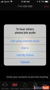 قطع ارتباط صوتی اینترنتی