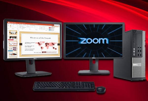 نحوه-تنظیم-ویدیوی--Zoomزوم-برای-مانیتورهای-دوگانه-و-نمایش-در-پاورپوینت
