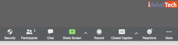 چگونه صفحه خود را در zoom به اشتراک بگذارید