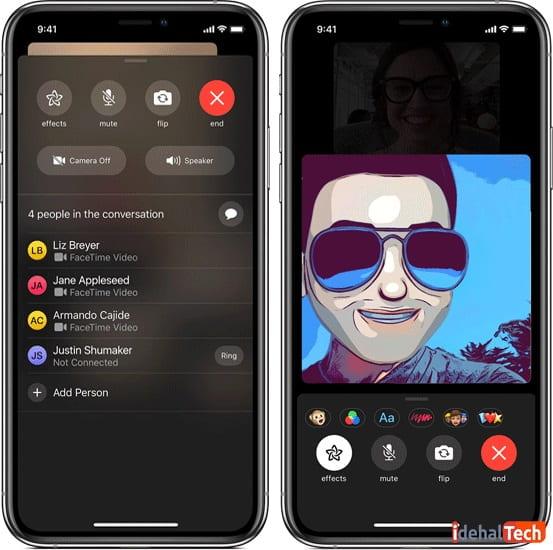 کارهایی-که-می_توانید-در-یک-تماس-گروهی-FaceTime-انجام-دهید