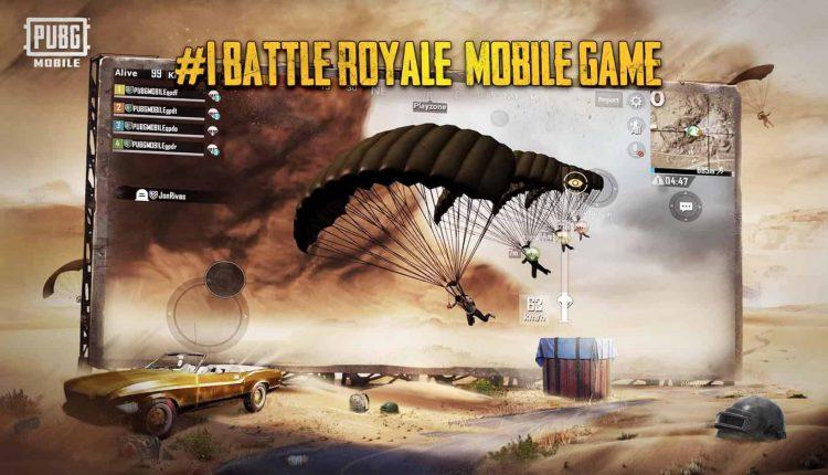 گیم پلی بازی پابجی موبایل PUBG MOBILE