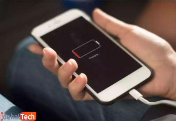 کم شدن شارژ باتری موبایل