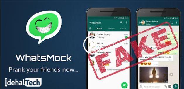 برنامه ساخت چت فیک در واتساپ