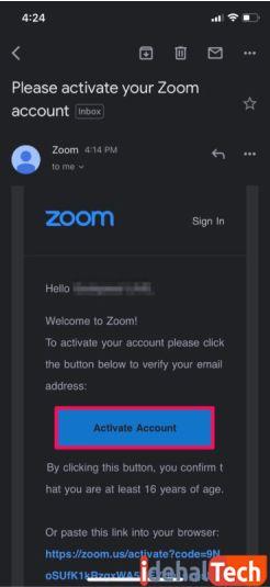 حساب کاربری خود را فعال کنید