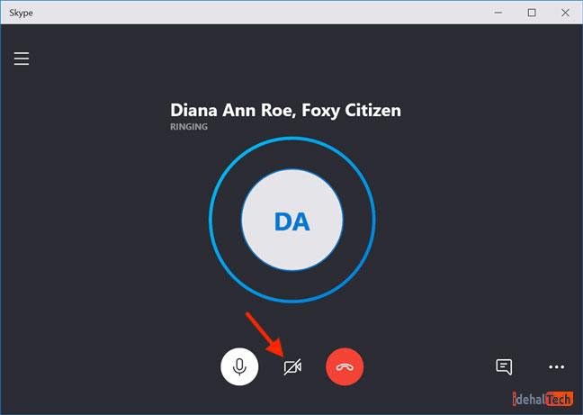 برقراری تماس تصویری در اسکایپ