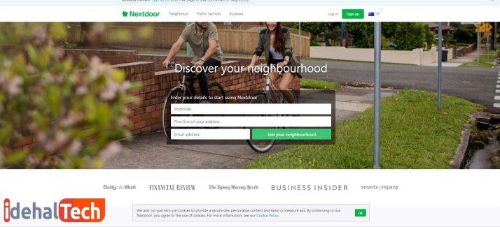 برنامه Nextdoor