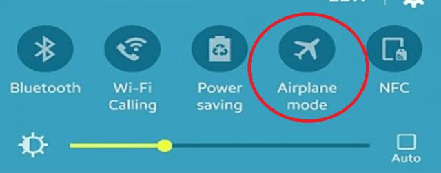 چگونه گوشی را از دسترس خارج کنیم در حالت پرواز