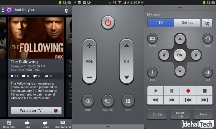 برنامه watchon برای کنترل تلویزیون با گوشی