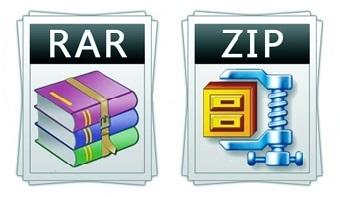 تفاوت فایل های rar با zip