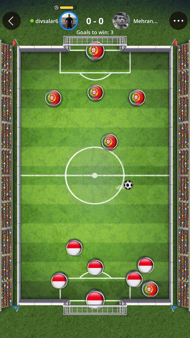 بازی فوتبال در PLATO