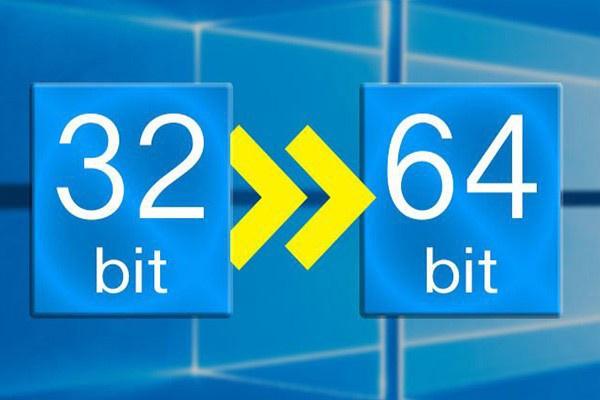ویندوز 32 بیتی و 64 بیتی