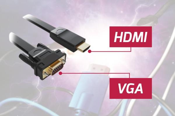 مقایسه کابل HDMI و VGA