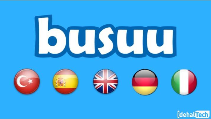 زبان های موجود در اپلیکیشن بوسو