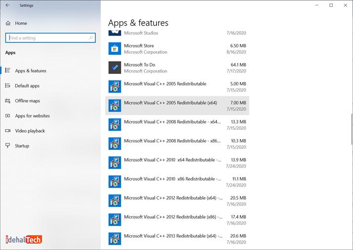 تنظیم مجددکش Microsoft Store