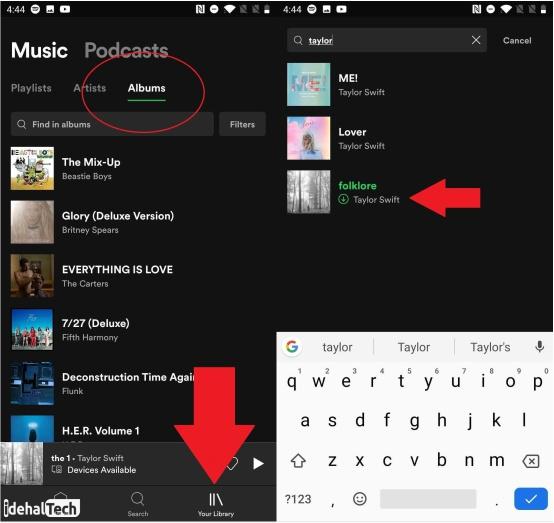 دانلود موسیقی از spotify