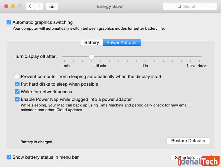 تغییر تنظیمات کارت گرافیک و نمایشگر برای افزایش طول عمر باتری لپ تاپ