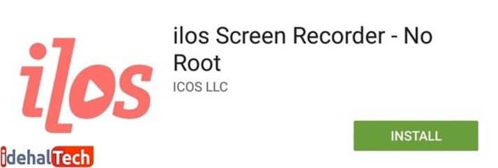 برنامه فیلم برداری از صفحه ilos