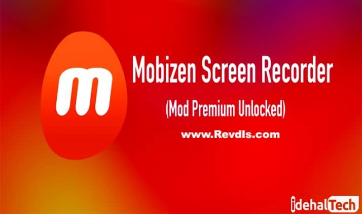 برنامه Screen Recorder Mobizen