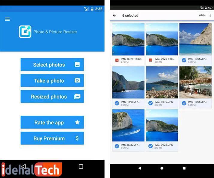 کاهش سایز عکس با اپلیکیشن اندرویدی photo-and-picture-resizer