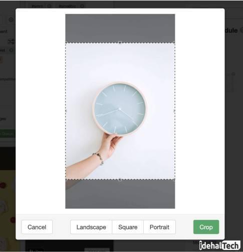 قبل از آپلود عکس در اینستاگرام سایز آن را تغییر دهید