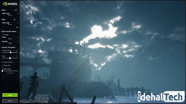 اسکرین شات از گیم در ویندوز 10