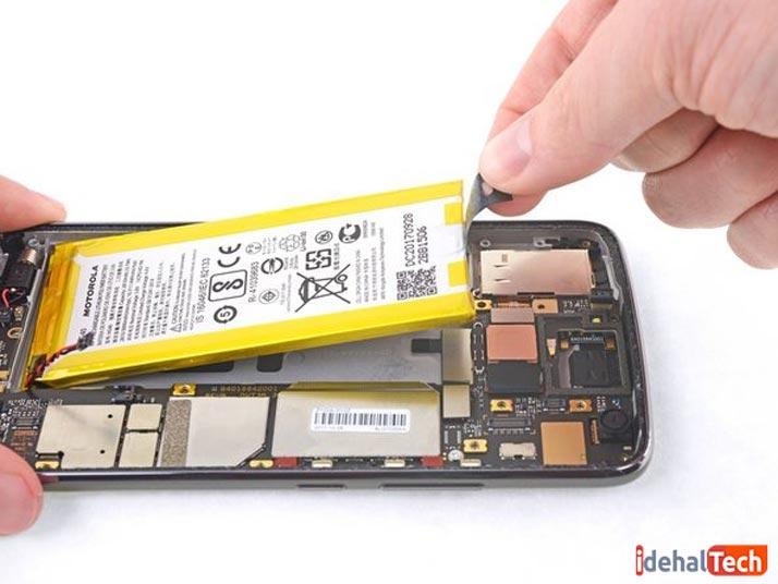 بررسی باتری گوشی دست دوم