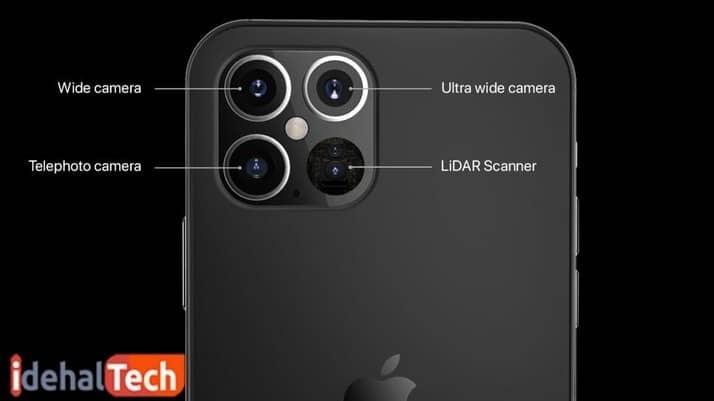 یک تصویر احتمالی نمونه برای دوربین آیفون 12 پرو